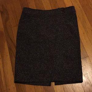 Tweed pencil skirt. Fits like a 4.